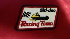 Vintage Ski Doo-Racing Team Patch NEW