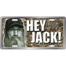 Duck Dynasty License Frame Hey Jack Si