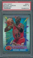 1994/95 Finest Refractor #331 Michael Jordan PSA MINT 9 *0270