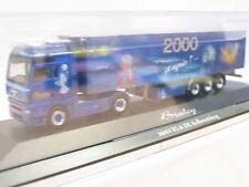 Herpa PC-Modell MAN TG-A XXL Koffersattelzug Braley 2000 OVP (U9511)
