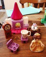 LEGO DUPLO SET 10877 BELLES TEA PARTY COMPLETE LOVELY CONDITION DISNEY PRINCESS