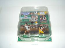 1999 Starting Lineup Classic Doubles Brett Favre- Falcons & Packers  with case