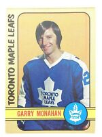 1972-73 Garry Monahan Toronto Maple Leafs 207 OPC O-Pee-Chee Hockey Card P278