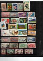Bel ensemble de 151 timbres anciennes colonies et DOM/TOM