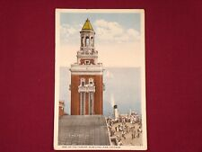 Vintage Postcard Navy Pier Municipal Pier, Chicago, Illinois Early 1900s Picture