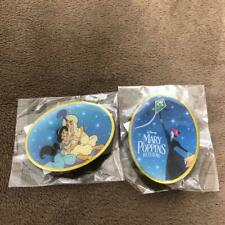 Tokyo Disney Resort Aladdin Mary Poppins Pin badge 2 Set Disney on Ice 2019