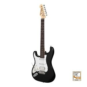 TOKAI LEGACY 6 String Left Hand Strat Style Electric Guitar in Black TL-STL-BB/R