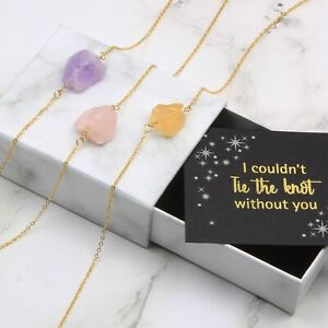 Natural Raw Stone Necklace,Healing Stone Necklace,Chakra Jewelry,Crystal Gemston