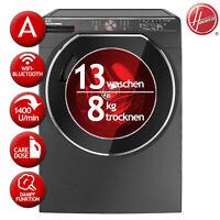 Waschtrockner Waschen 13kg / Trocknen 8kg EEK:A HOOVER AWDPD 4138LHR/1s Caredose