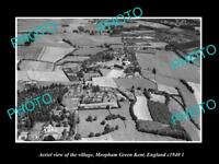 OLD LARGE HISTORIC PHOTO AERIAL VIEW OF MEOPHAM GREEN KENT ENGLAND c1940 2