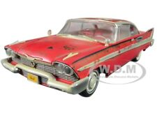 1958 PLYMOUTH FURY CHRISTINE DIRTY/RUSTED VERSION 1/18 BY AUTOWORLD AWSS119