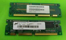 2x CISCO 74-3101-01 MEM800-16D 100Pin SDRAM 16MB PC100 SDRAM Memory Modules