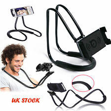 Lot Lazy Hanging Neck Mobile Phone iPad Mount Necklace Support Bracket Holder/OO