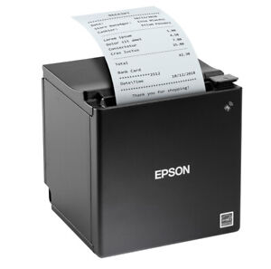 EPSON TM-M30II BLUETOOTH/ETHERNET/USB Printer Black  USB Charging