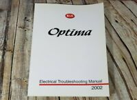 2002 KIA Optima Electrical Troubleshooting Manual OEM Factory