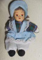 Puppe klein Püppchen Spielzeug Deko Dekoration 14cm hoch Porzellan Kind Mädchen