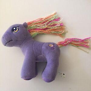 My Little Pony Plush Rainbow Swirl Purple Teddy Hasbro