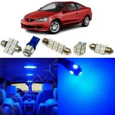 9x Blue LED Interior Lights Package Kit for 2002-2006 Acura RSX +Tool AR1B