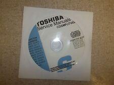 Toshiba Television Service Manual CD CDSMPJTV02 *FREE SHIPPING*