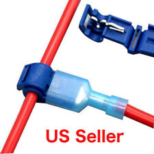 Cable Connector Quick Splice Lock Wire Terminals Crimp Electric  25 Pairs