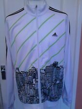 """Adidas City Scape """"Sample"""" zip front jacket  size M  adult"""