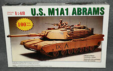 Modelo U.S. m1a1 Abrams tanques kit 1:48 tanque con motor