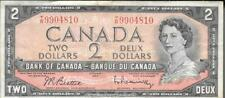 More details for 'canada 2 $ banknote 1954 - devils face - bank of canada - circulated