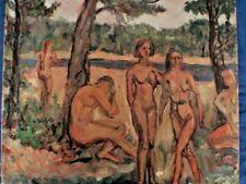 Walter E Baum  Oil on Canvas 1956