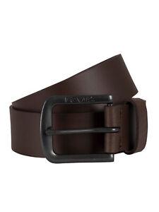 Levi's Men's Seine Metal Belt, Brown