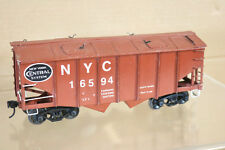 ALL NATION VINTAGE KIT BUILT WOOD O SCALE NEW YORK CENTRAL NYC HOPPER WAGON nl