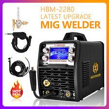5 In1 Mig Welder Weld Aluminum 200a 220v Gas Gasless Arc Mig Tig Welding Machine