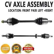 PAIR FRONT LEFT & RIGHT CV DRIVE AXLE SHAFT ASSEMBLY For HONDA CIVIC 01-05