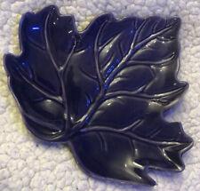 Purple Leaf Ceramic Dish