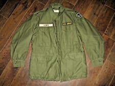 EUC M1951 Small 1st Lt's Post Korea Early Vietnam field jacket w/ 1958 date