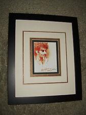 Framed Image of Abbie Hoffman by Leroy Neiman