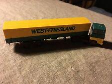 Wiking Ford Transcontinental Sattelzug West - Friesland grün gelb H0 1:87