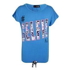 T-shirt bleu pour fille de 9 à 10 ans