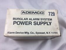 ADEMCO #729 BURGLER ALARM POWER SUPPLY