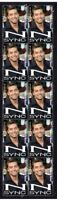 N SYNC STRIP OF 10 MINT VIGNETTE STAMPS, LANCE BASS