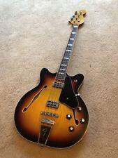 Fender Coronado Bass Guitar  - Retro Cool Epiphone Semi Bass Style - Rare