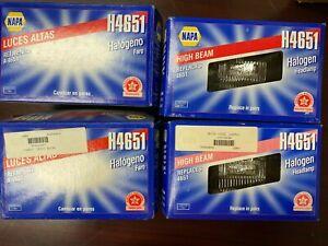 Lot of 4 Headlight Bulb Wagner or NAPA Lighting H4651 Halogen Headlamp