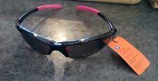 Imported Sport Sunglasses Black & Pink 100% UVA UVB MSRP $29.99