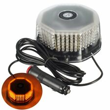 12V Amber 240 LED Car Vehicle Roof Strobe Light Recovery Beacon Lamp Magnetic