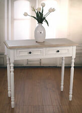 Sofa Table French Provincial Antique White Sideboard 2 Drawers BRAND NEW