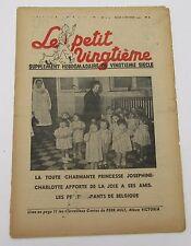 TINTIN HERGE LE PETIT VINGTIEME NO 6 de 1940   BON ETAT