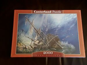 Castorland SUNK GALLEON 2000 piece Jigsaw BRAND NEW Factory Sealed