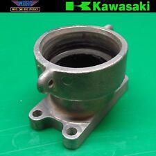 2001 Kawasaki KX125 Exhaust Manifold Pipe Holder Header Flange Mount 1998-2001