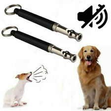 Dog Training Whistle UltraSonic Obedience Stop Barking Sound Quiet Command Tool
