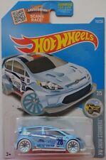 2016 Hot Wheels HW SNOW STORMERS 2/5 '12 Ford Fiesta 157/250 (Light Blue Version