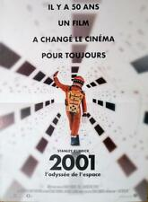 2001 A SPACE ODYSSEY - KUBRICK - RARE REISSUE SMALL FRENCH MOVIE POSTER